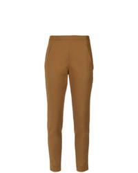 Pantalón de pinzas marrón claro de Andrea Marques