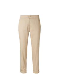 Pantalón de pinzas marrón claro de Etro