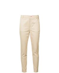 Pantalón de pinzas marrón claro de Loveless
