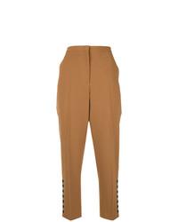 Pantalón de pinzas marrón claro de N°21