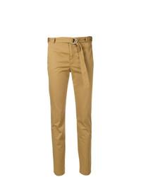 Pantalón de pinzas marrón claro de RED Valentino