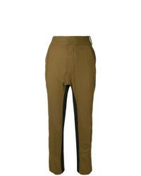 Pantalón de pinzas mostaza de Haider Ackermann