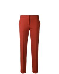 Pantalón de pinzas naranja de Twin-Set