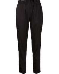 Pantalón de pinzas negro de Alexander Wang