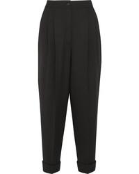 Pantalón de pinzas negro de Dolce & Gabbana