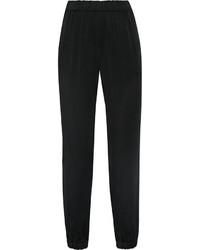 Pantalón de pinzas negro de Lanvin