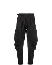 Pantalón de pinzas negro de Marcelo Burlon County of Milan