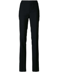 Pantalón de pinzas negro de Saint Laurent