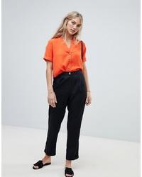 Pantalón de pinzas negro de Vero Moda
