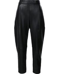 Pantalón de pinzas negro de Vince