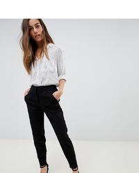 Pantalón de pinzas negro de Y.A.S Petite