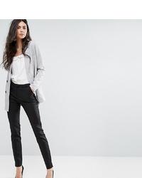 Pantalón de pinzas negro de Y.A.S Tall