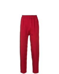 Pantalón de pinzas rojo de Layeur
