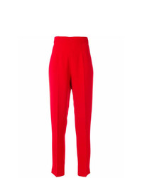 Pantalón de pinzas rojo de Moschino Vintage