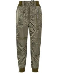 Pantalón de pinzas verde oliva de 3.1 Phillip Lim