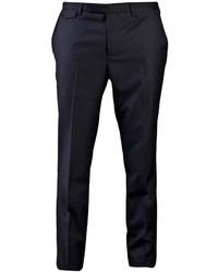 Pantalón de vestir a lunares en negro y blanco de Kris Van Assche