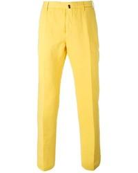 Pantalón de vestir amarillo de Incotex