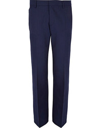 Pantalon de vestir azul marino original 478890