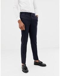Pantalón de vestir azul marino de ASOS DESIGN