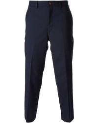 Pantalón de vestir azul marino de Comme des Garcons