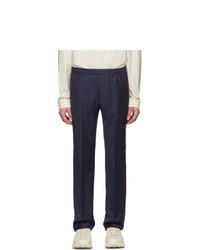 Pantalón de vestir azul marino de Gucci
