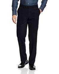 Pantalón de Vestir Azul Marino de Hiltl