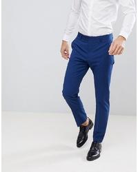 Pantalón de vestir azul marino de Mango