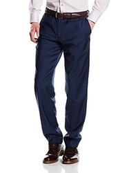 Pantalón de vestir azul marino de s.Oliver Premium 02.899.73.3237
