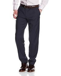 Pantalón de vestir azul marino de s.Oliver Premium