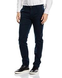 Pantalón de Vestir Azul Marino de Selected