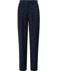 Pantalón de vestir azul marino de Victoria Victoria Beckham