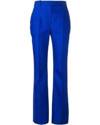 Pantalón de Vestir Azul de Alexander McQueen