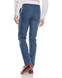 Pantalón de vestir azul de Benetton