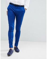 Pantalón de vestir azul de Devils Advocate