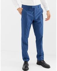 Pantalón de vestir azul de Farah Smart