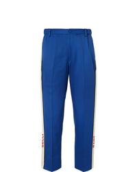 Pantalón de vestir azul de Gucci