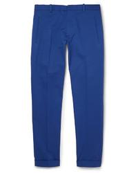 Pantalón de vestir azul de Jil Sander