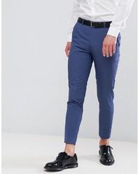 Pantalón de vestir azul de MOSS BROS