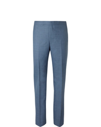 Pantalón de vestir azul de Richard James