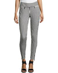 Pantalon de vestir blanco y negro original 3152049