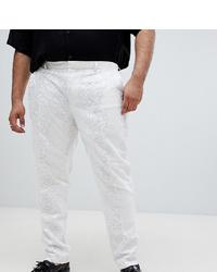 Pantalón de vestir blanco de ASOS Edition