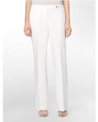 Pantanones Blancos De Vestir Mujer