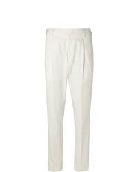 Pantalón de vestir blanco de Caruso