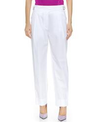 Pantalón de Vestir Blanco de Nina Ricci