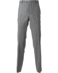 Pantalón de Vestir de Cuadro Vichy Gris de Carven