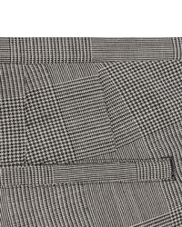 Pantalón de vestir de lana a cuadros gris de Paul Smith