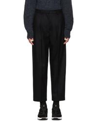 Pantalón de vestir de lana azul marino de Acne Studios