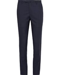 Pantalón de vestir de lana azul marino de Boglioli