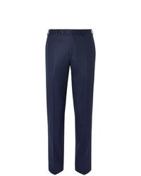 Pantalón de vestir de lana azul marino de Canali