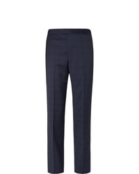 Pantalón de vestir de lana azul marino de Gabriela Hearst